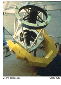 2.2m telescope