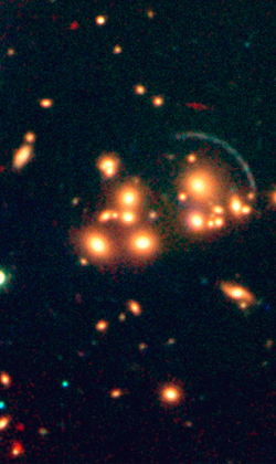 galaxy cluster cl2244-02