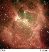 star formation region DR6